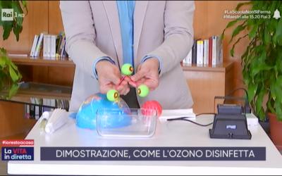 Come l'ozono inattiva il Coronavirus