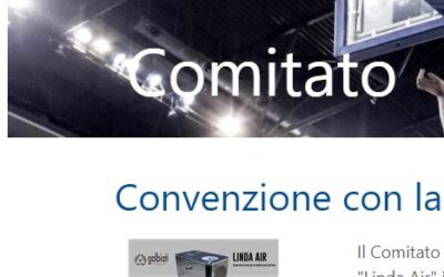 Convention with FIP Lombardia for the new ozone generator Linda Air